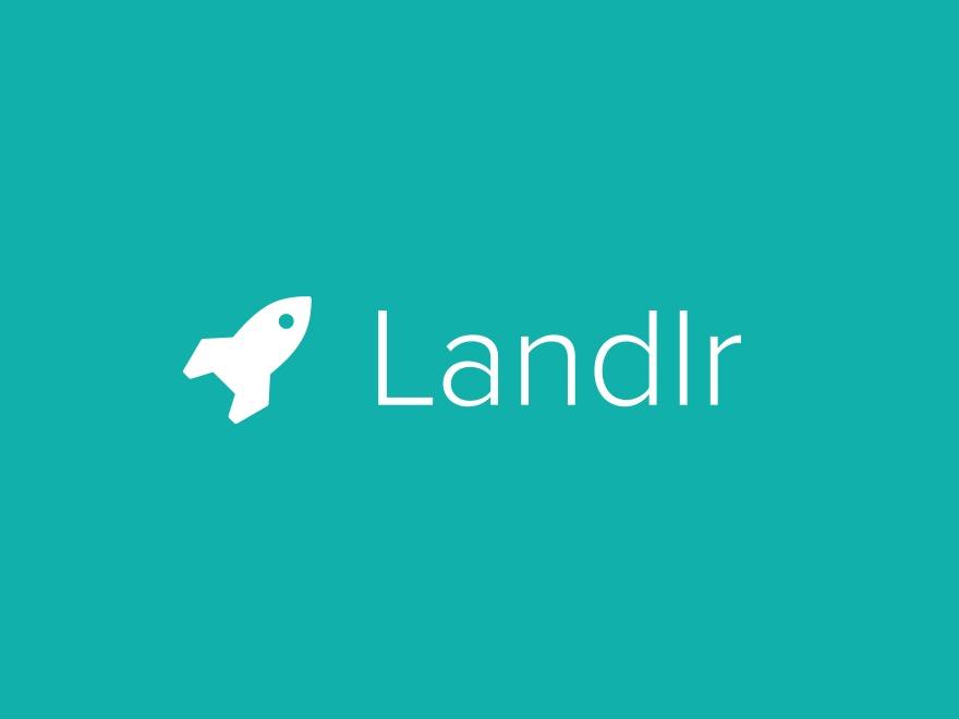 Landlr Child WordPress page template