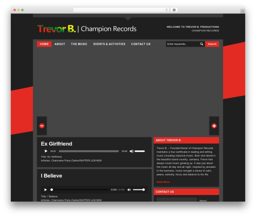 LondonCreative+ v4.2 WordPress theme - trevorb-championrecords-uk.com