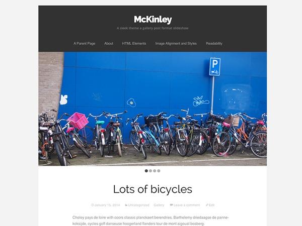 McKinley – WordPress.com WordPress blog template