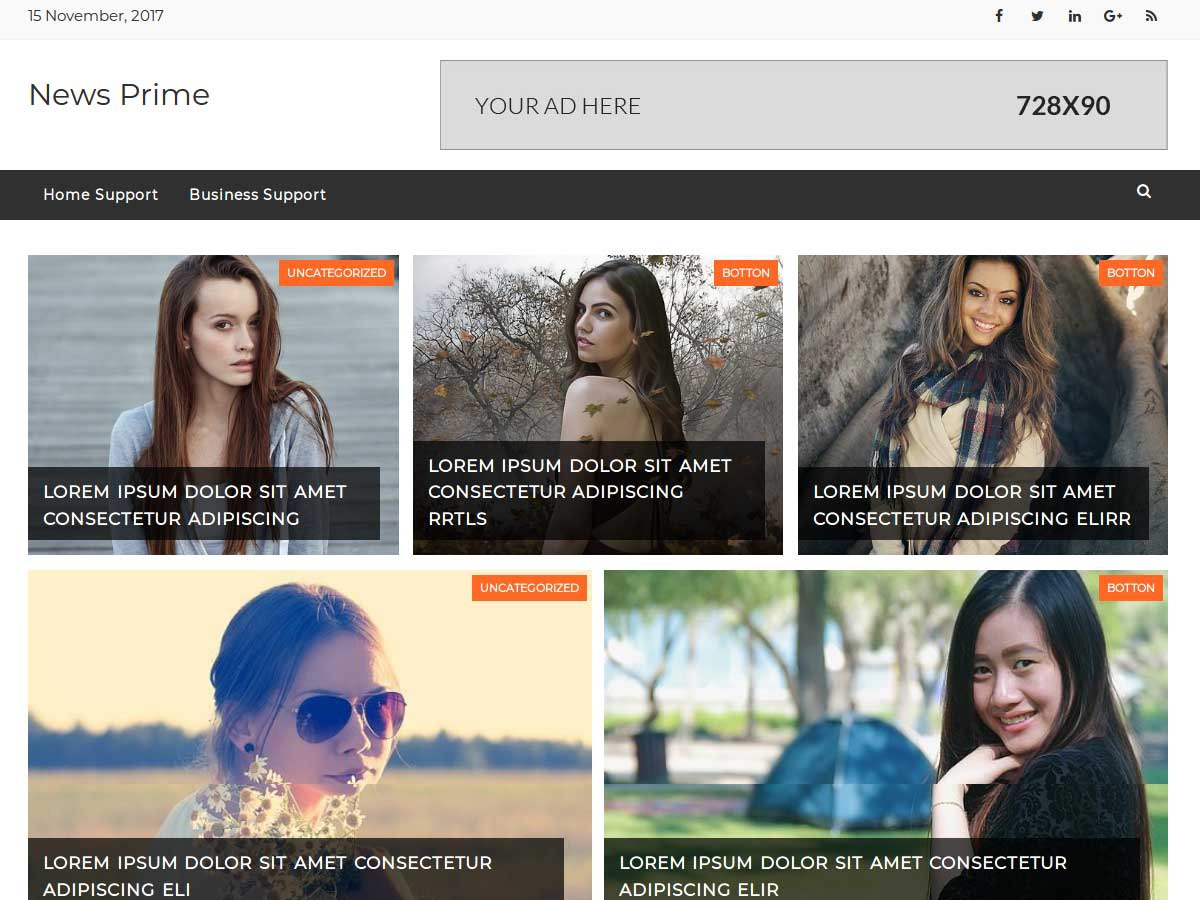 News Prime best WordPress magazine theme