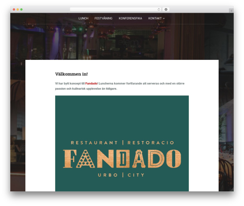 Padhang WordPress theme - tvagrabbar.se