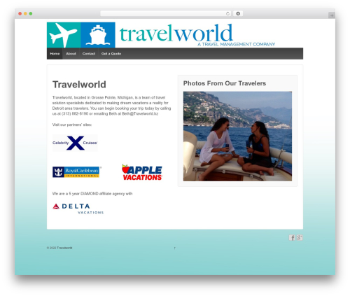 Responsive WordPress free download - travelworldgp.com