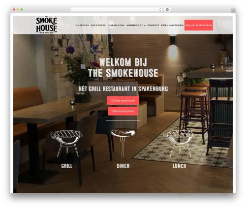 Sage best restaurant WordPress theme - thesmokehouse.nl