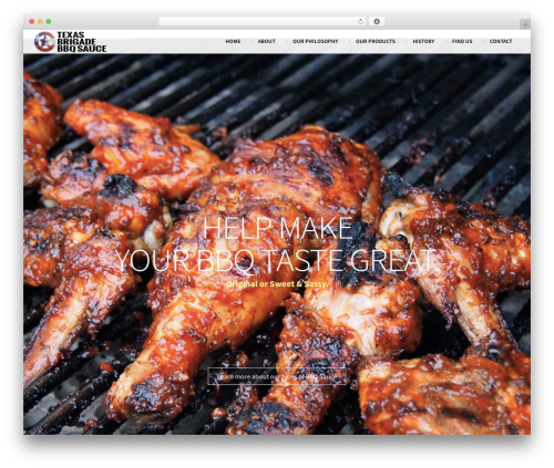 South Central theme WordPress - texasbrigadebbq.com