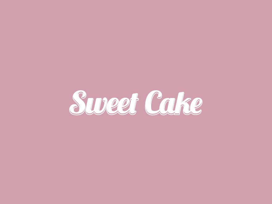 Sweet Cake WordPress template for business
