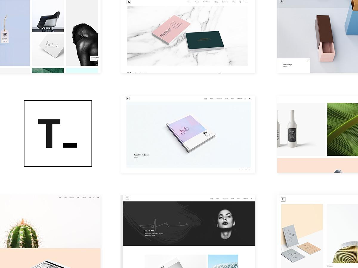 tamashi top WordPress theme