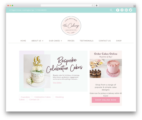 Twenty Thirteen WordPress theme - thecakeryleamington.co.uk