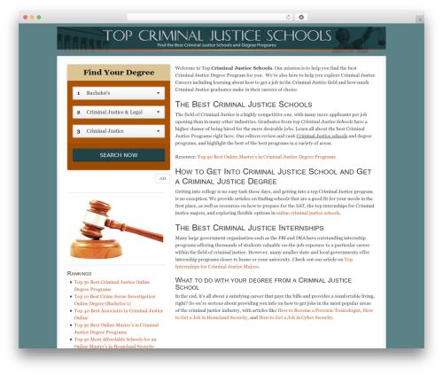 WordPress theme Georgia Child Theme - top-criminal-justice-schools.net