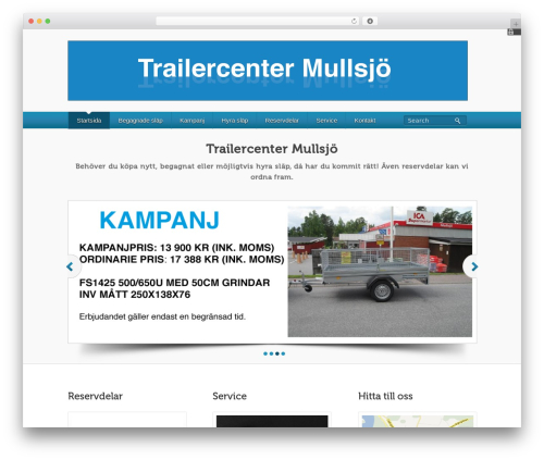 WP template BizWay Pro Responsive - trailercenter.org