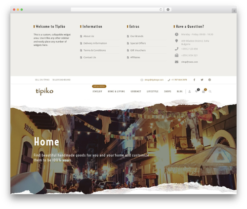 Zass WordPress blog theme - tipikopr.com