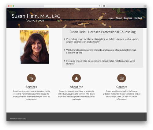 Pinnacle WordPress theme free download - counselingsusanhein.com