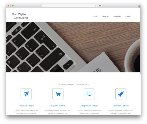 Satellite7 WordPress theme - donwyllieconsulting.com