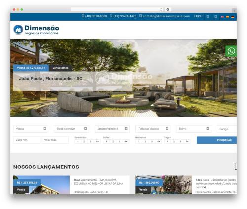 Vista Floripa WordPress theme - dimensaoimoveis.com