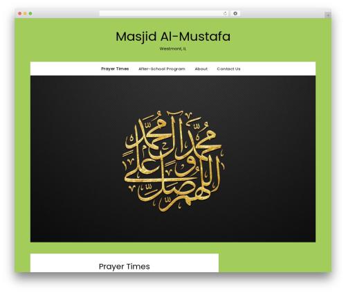 FlatMagazinews WordPress news theme - masjidmustafa.org