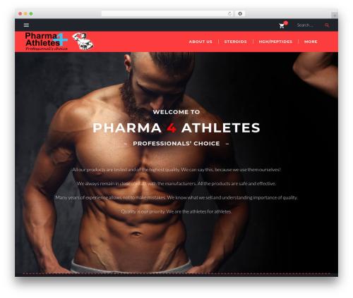 SportLabs WordPress store theme - pharma4athletes.com