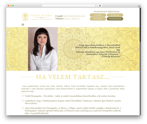 Betheme WordPress theme design - tubolybeatrix.com