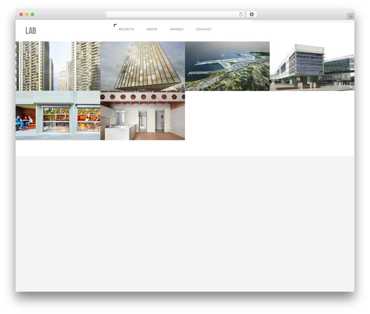 Domik WordPress page template - labarchbcn.com