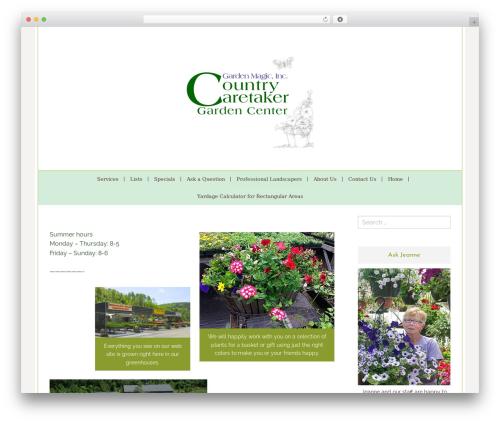 Lucy and Lane - Premium landscaping WordPress theme - countrycaretakers.com