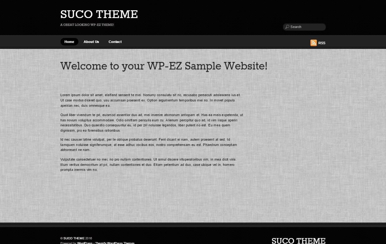 Template WordPress Suco