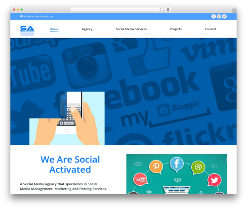 The7 WP template - socialactivated.com