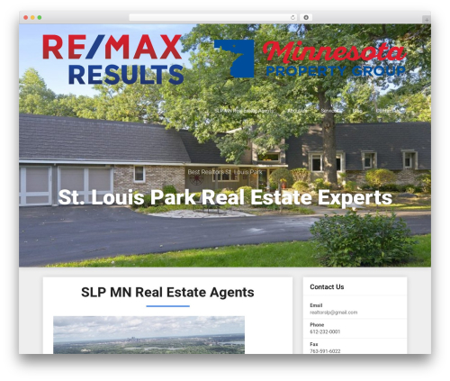 Triumph Seo real estate template WordPress - buymnrealestate.com