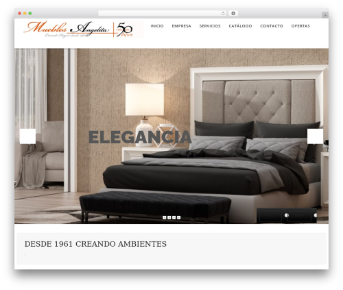 WP Omnia theme WordPress - mueblesangelita.com