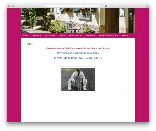 Gridiculous theme WordPress - zumpflug.com