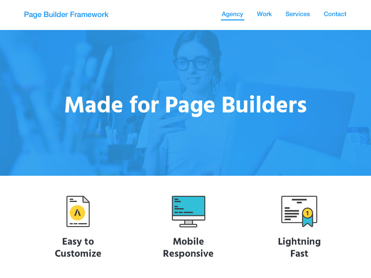 Page Builder Framework – Child WP theme