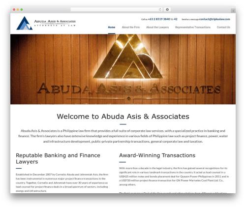 Dynamik-Gen business WordPress theme - triplealaw.com