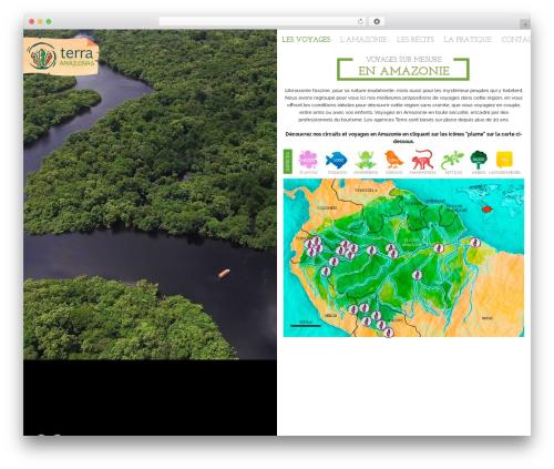 WordPress theme Beryl - voyages-amazonie.com