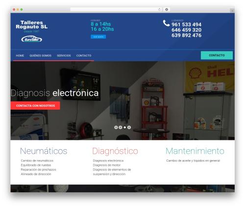autorepair WordPress theme - talleres-rogauto.com