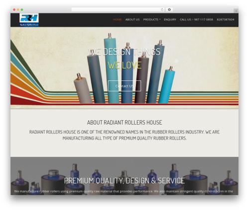 WordPress theme Berliner - rubberrollersindia.com