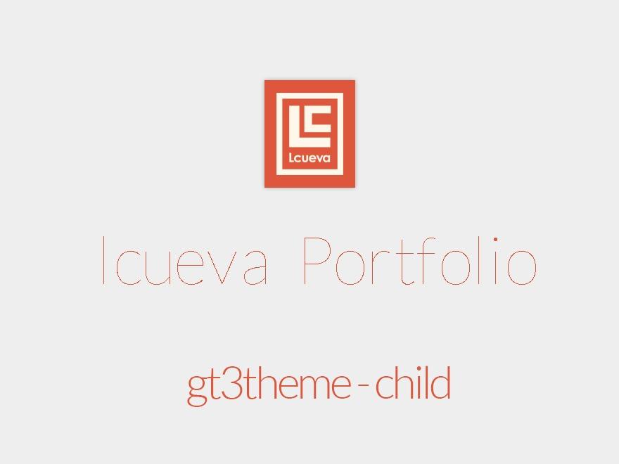 WordPress theme GT3theme - Child