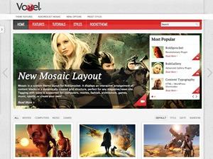 Voxel template WordPress