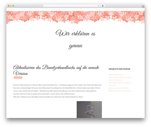 Germaine WordPress template free download - serenityspa-eurekasprings.com