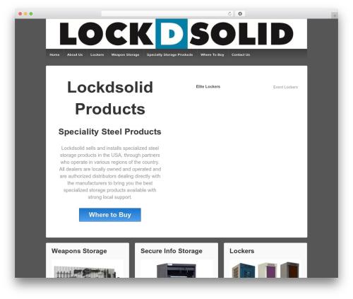 Responsive theme WordPress free - lockdsolidwisconsin.com