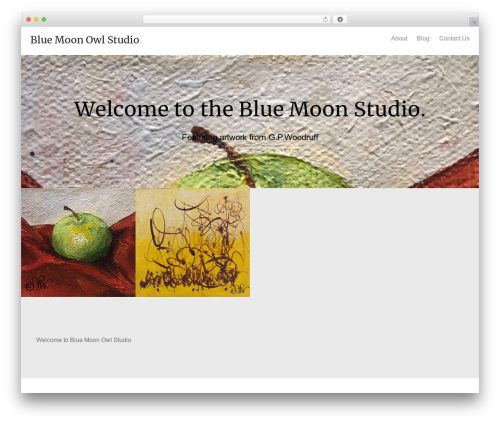 Oren free WordPress theme - bluemoonowlstudio.com