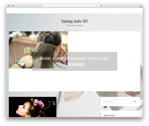Sanremo WordPress theme free download - tanning-beds-101.com