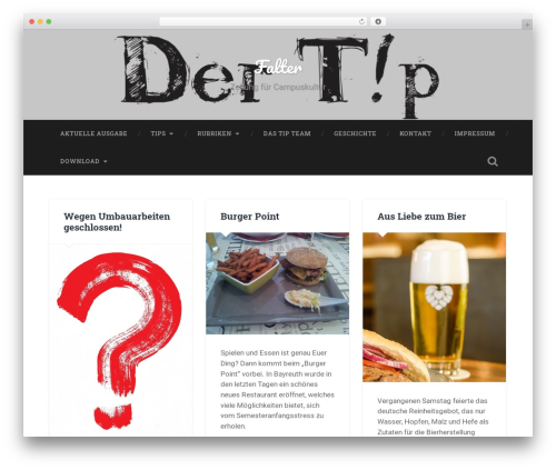 Baskerville free website theme - tipbt.de