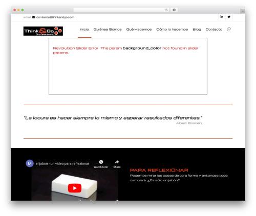 Best WordPress theme Modular - thinkandgo.com
