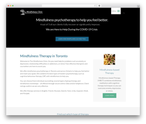 Eco Press template WordPress - themindfulnessclinic.ca