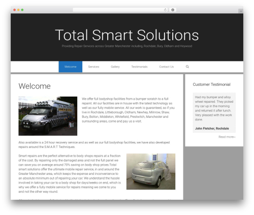 Exhibit WordPress template free download - totalsmartsolutions.co.uk