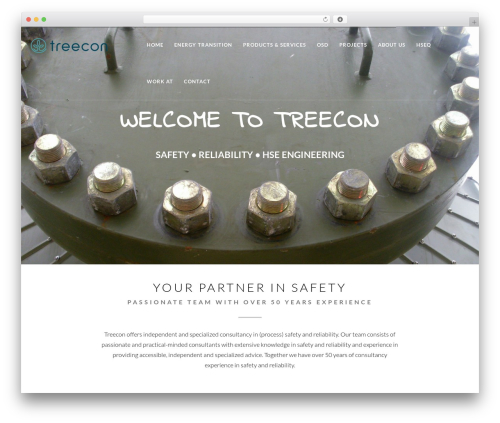 EXO Theme WP template - treecon.nl