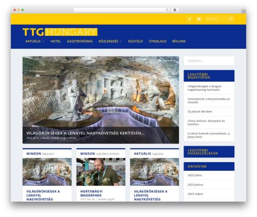 Extra best WordPress theme - ttghungary.hu