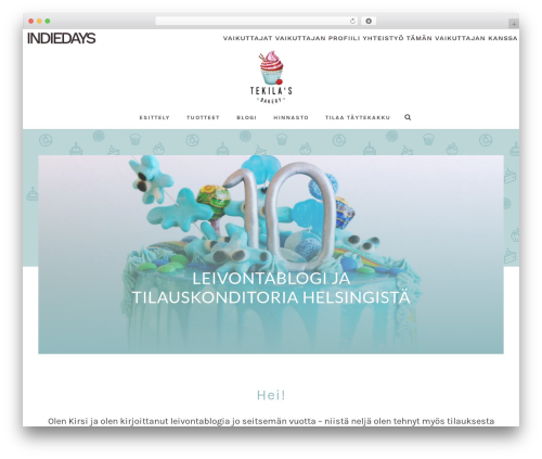 Jupiter WordPress blog theme - tekila.fi