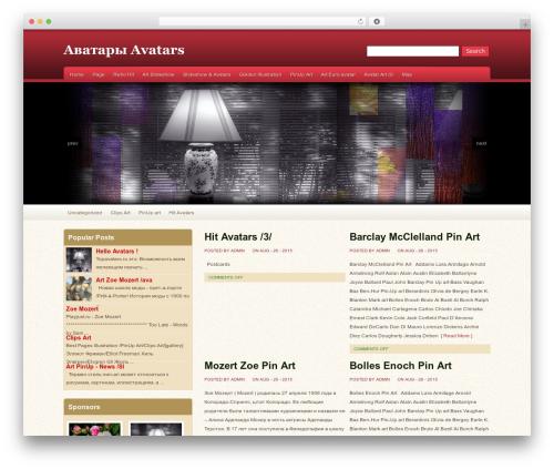 Oracle theme WordPress - topavatars.ru
