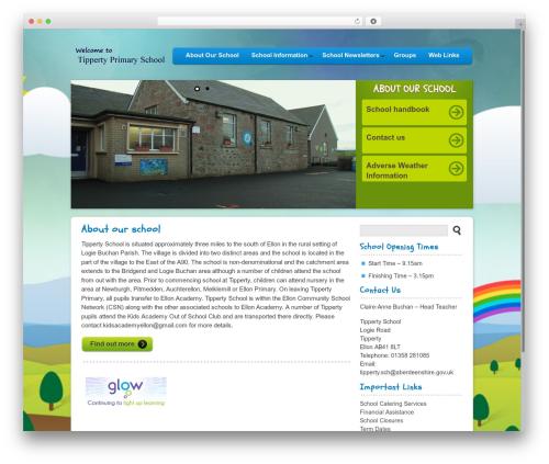 Peekaboo template WordPress - tipperty.aberdeenshire.sch.uk