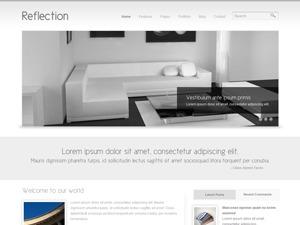 Reflection business WordPress theme