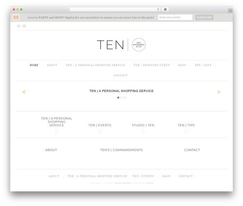 Free WordPress Testimonials plugin - tenshopten.com