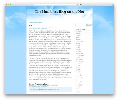 Free WordPress Organize Series plugin - thehumblest.net